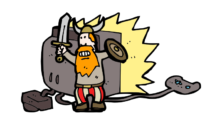 viking_playing_a_violent_game