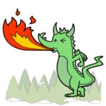 flaming_dragon