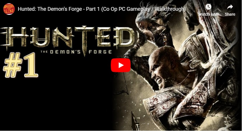 Hunted Demon Forge Video Cover-min