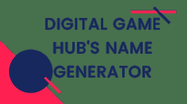 Video Game Name Generator - Digital Games Hub