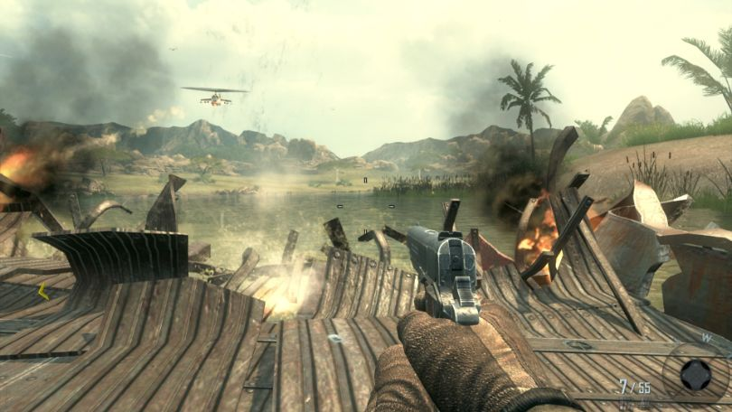 Black Ops 2 Campaign Gameplay