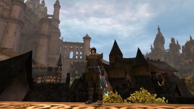 Guild Wars 2 - In starting city