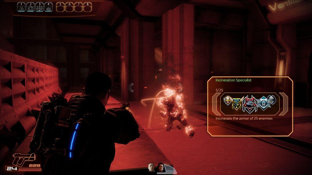 Mass Effect 2 Combat Showdown