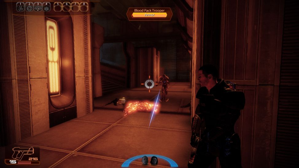 Mass Effect 2 Ready to Engage Enemy