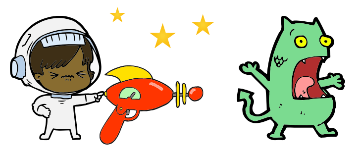 Spacegun_and_etraterrestrial