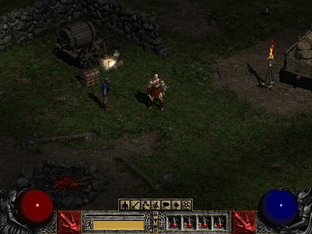 Diablo 2 Starting Area