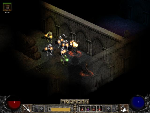 Diablo 2 Close Combat