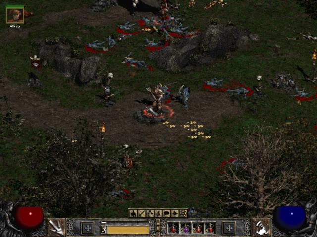 Diablo 2 Finished a Huge Battle