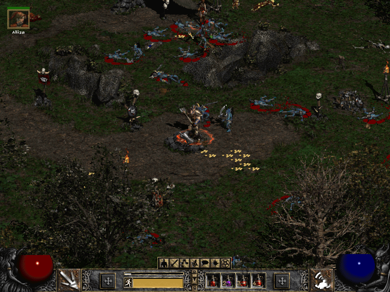 Diablo 2 Finished a Huge Battle