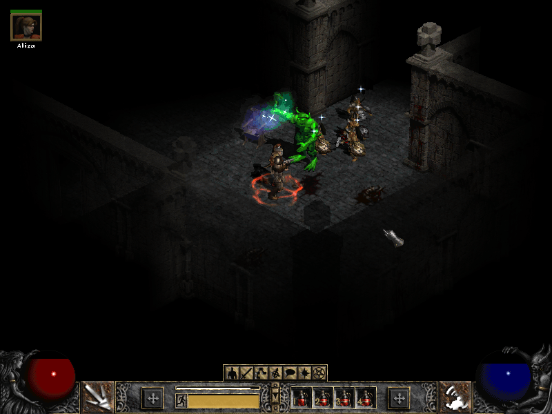 Diablo 2 Huge Boss Fight