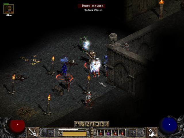 Diablo 2 Under Attack by Undead Army