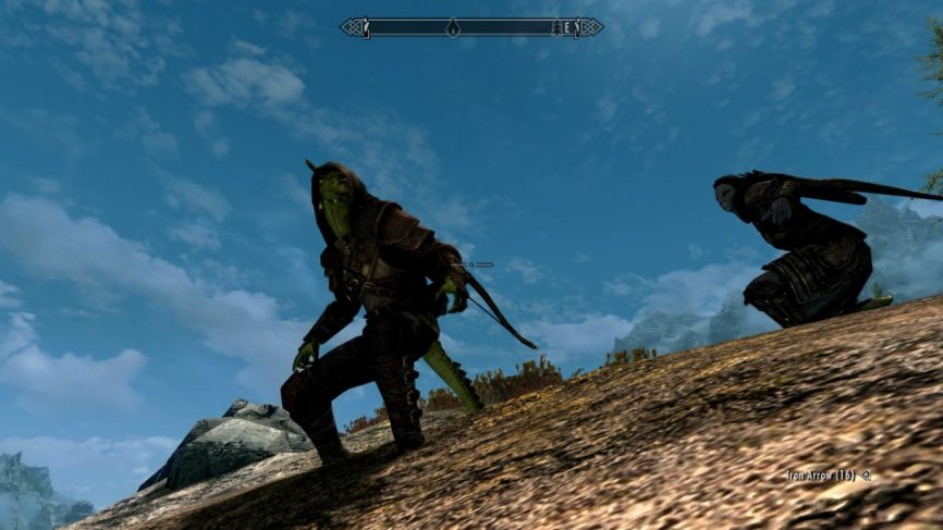 My Thief and companion sneaking around