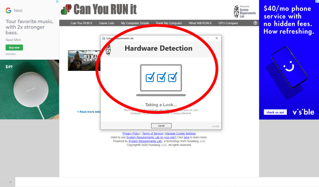Step 4 Hardware Detection