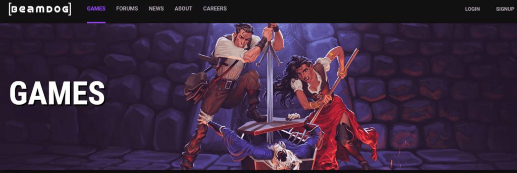 Games - Beamdog - Homepage