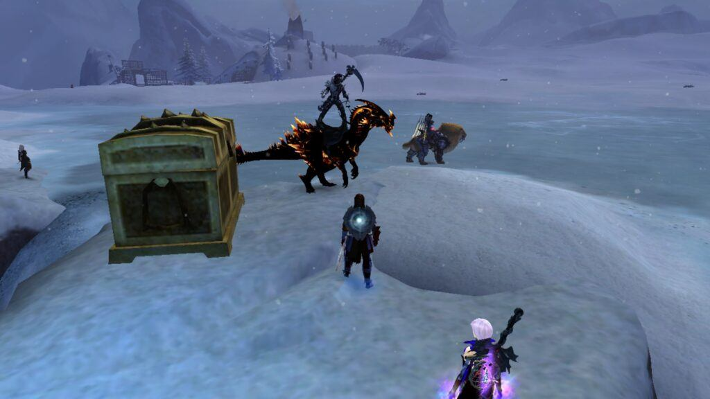 Guild Wars 2 Dragon Mount