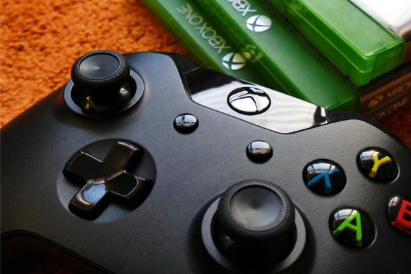 Black Xbox Controller