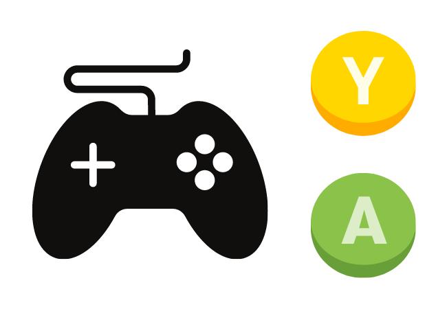 Un controlador de Xbox