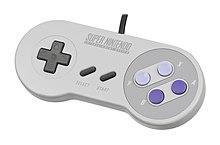 The super NES joystick for North America.