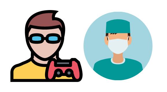 Gamer vs a Surgeon