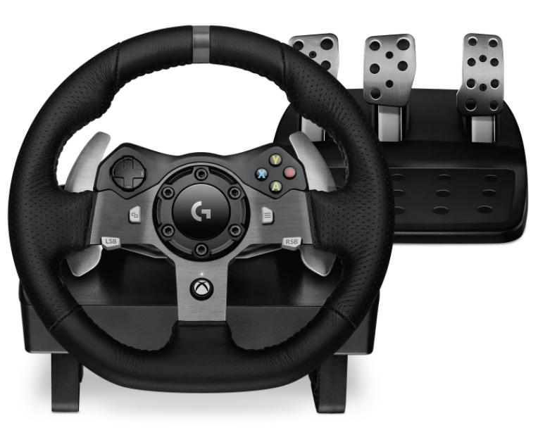 Logitech Racing Wheel G920 for Xbox.