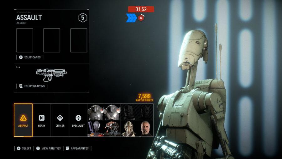 Soldier Classes for Star Wars Battlefront 2.