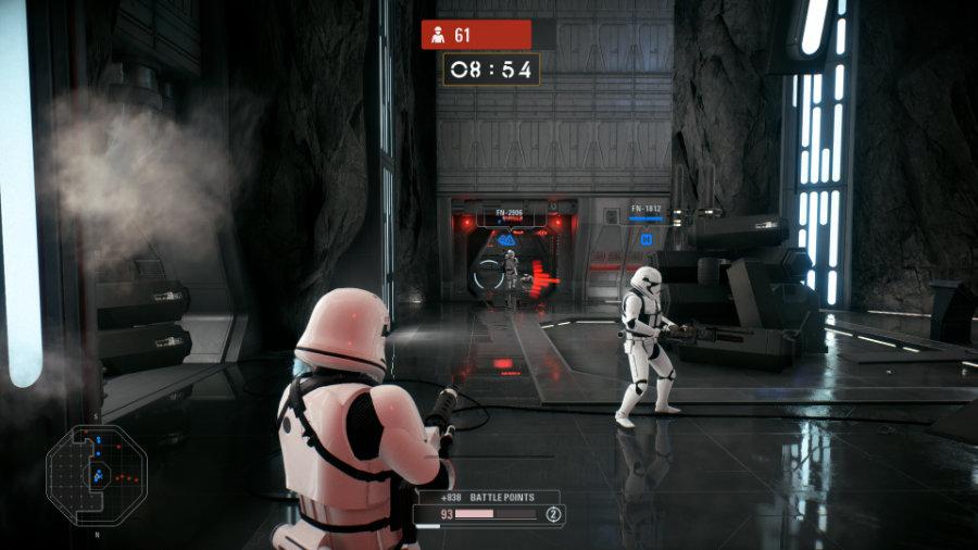Team Play in Star Wars Battlefront 2.