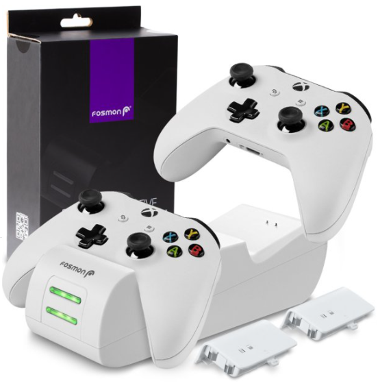 Fosmon Dual Controller Charger-Walmart Store Image
