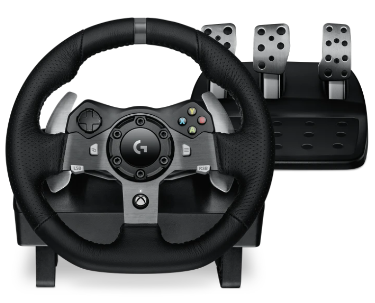 Cómo se usa el volante de carreras de Xbox One - Timon Logitech