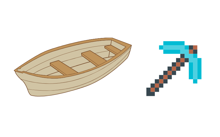 Creating a Boat is one of the Things to Build on Minecraft
