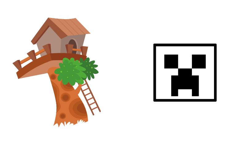 Create a Minecraft Treehouse