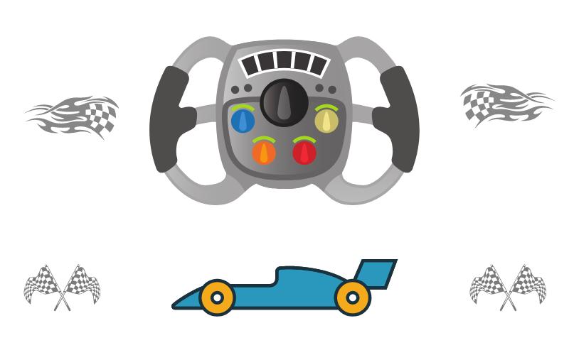 Quién usa las Ruedas de Carrera de Xbox One