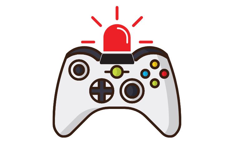 The Xbox Joystick keeps Blinking