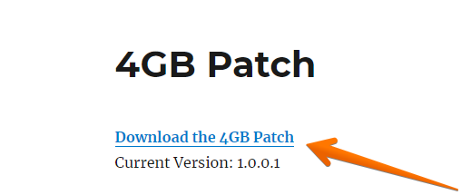 4GB Patch – NTCore - Download Link