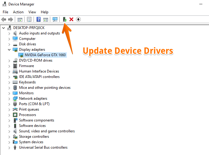 Device Manager Window 2
