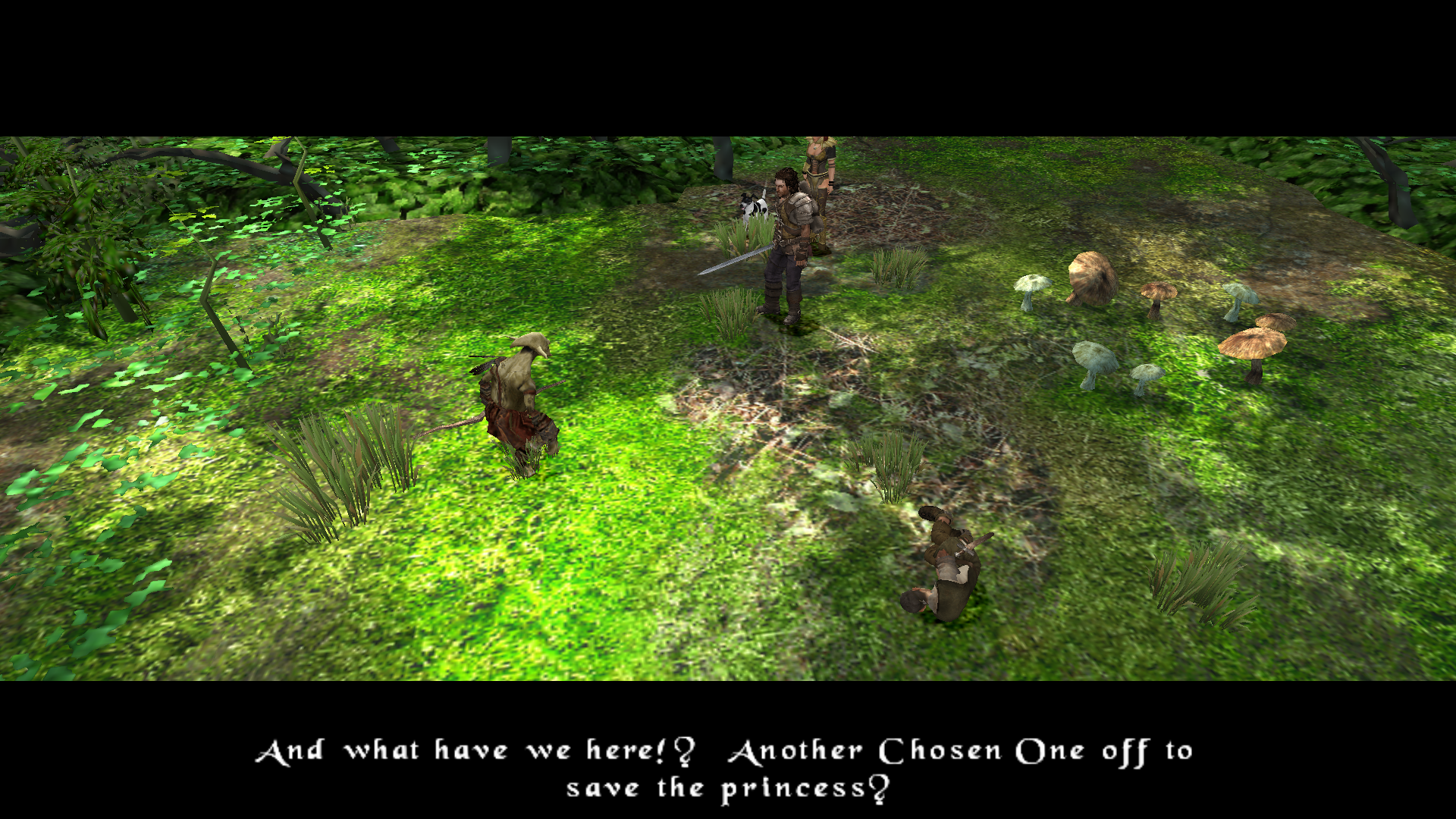 Enemy encounter cut-scene