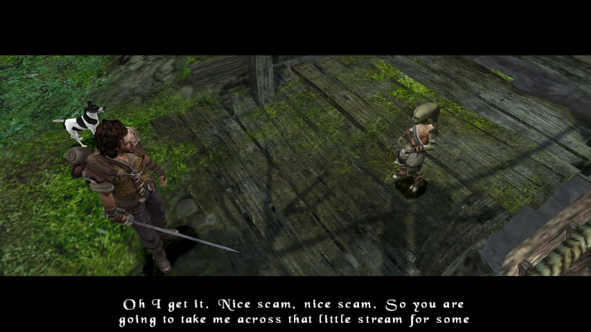 A friendly goblin.