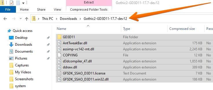 Gothic2-DirectX 11 Update