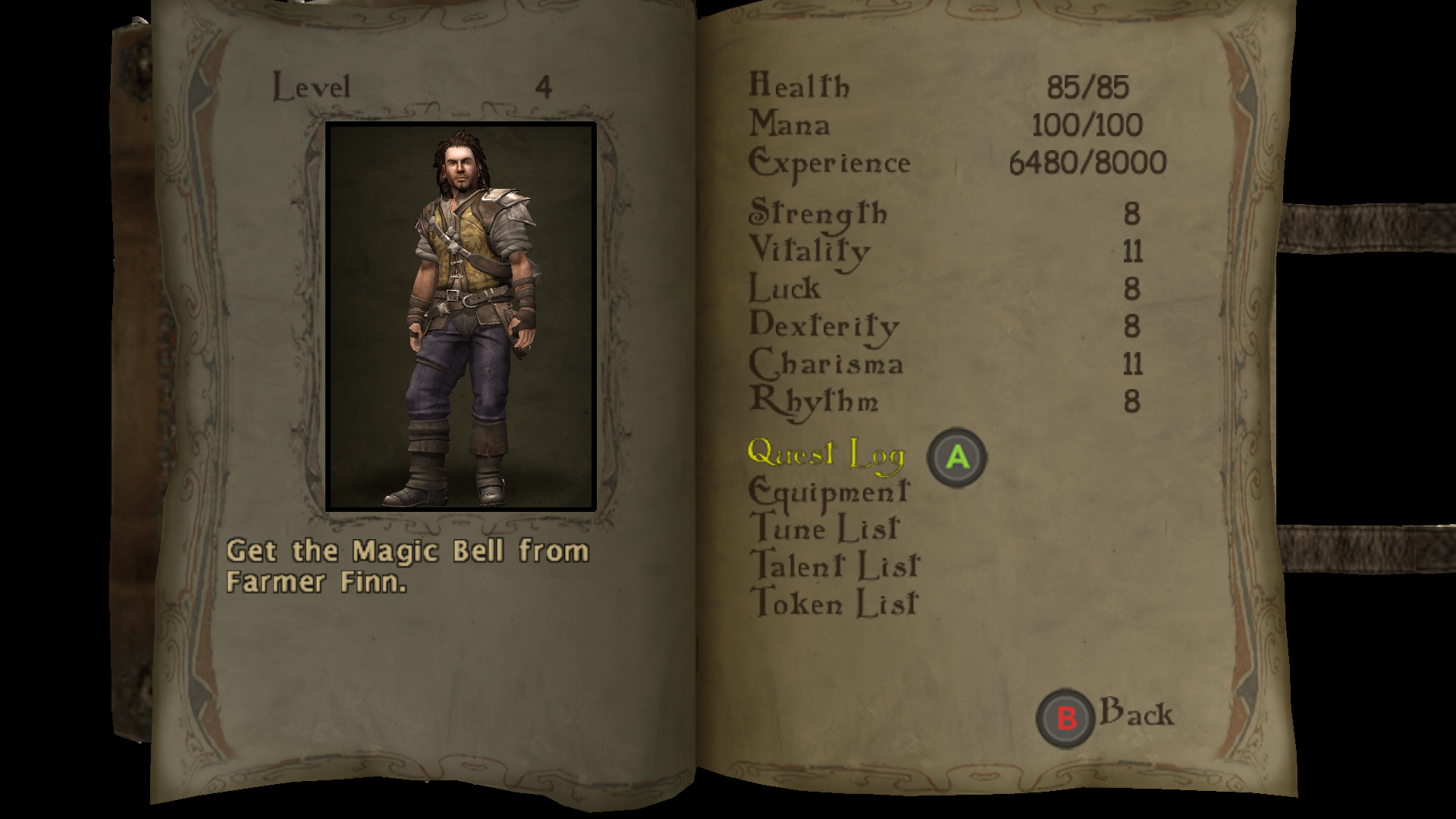 Is The Bard's Tale Remastered Worth it? Character Sheet.