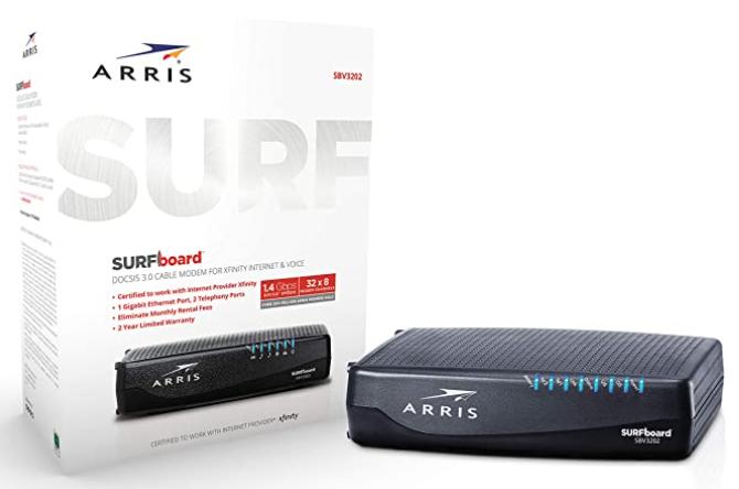 Arris Surfboard SBV3202-Amazon Image