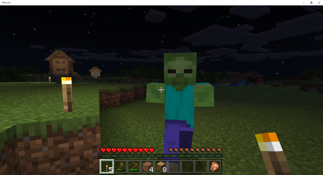 Fight Evil Zombies to gain Minecraft magical items2.
